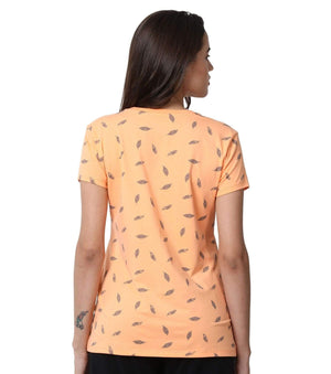 Enamor Half Sleeves T-Shirt Printed -E247 - HARSHU FASHION