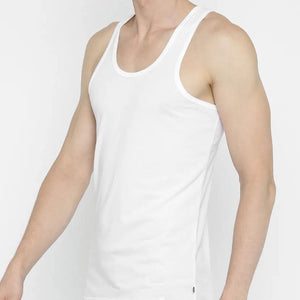 Jockey Men Vest White(2pcs Pack)- 8820 - HARSHU FASHION