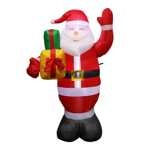 Inflatable Santa Claus Outdoors Christmas Decorations