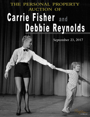 Carrie Fisher & Debbie Reynolds personal property auction September 23rd at Profiles in History