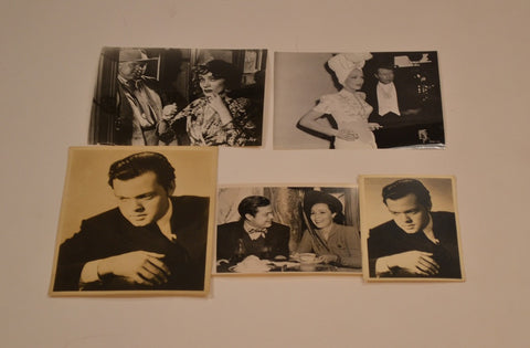 Orson Welles (5) Photograph Collection. (1941-1958)