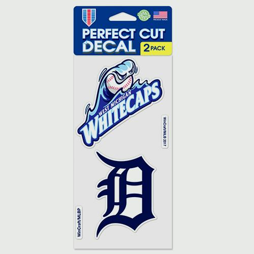 West Michigan Whitecaps 2-Pack Decal
