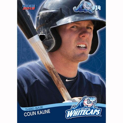West Michigan Whitecaps 2012 Team Card Set