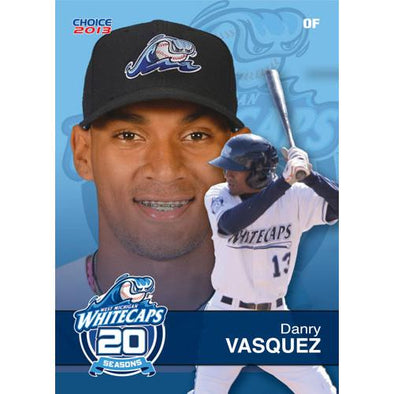 West Michigan Whitecaps 2013 Team Card Set