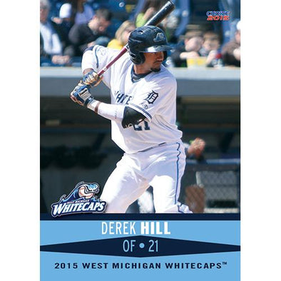 West Michigan Whitecaps 2015 Team Card Set