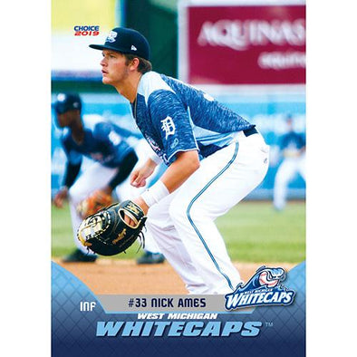 West Michigan Whitecaps 2019 Team Card Set