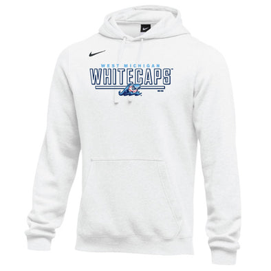 West Michigan Whitecaps Nike White Club Hoodie