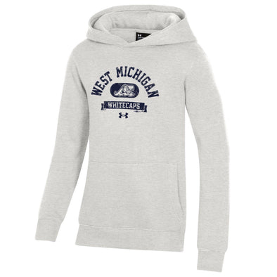 West Michigan Whitecaps Under Armour Youth All Day Fleece Hoodie