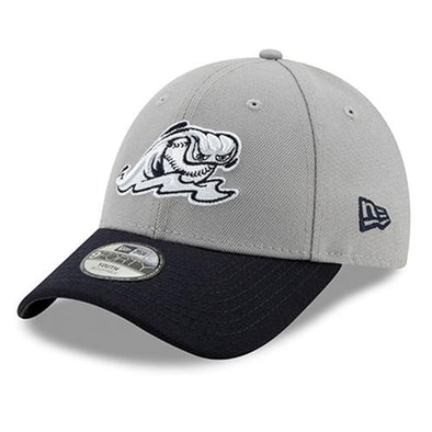 West Michigan Whitecaps Youth Clutch Hit Grey/Navy Cap