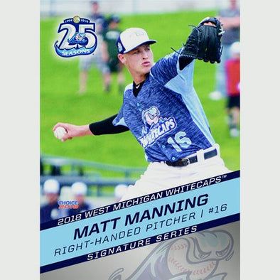 West Michigan Whitecaps 2018 Team Card Set