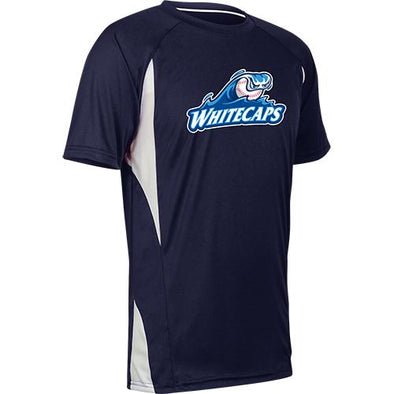 West Michigan Whitecaps Youth Top Spin Navy Jersey