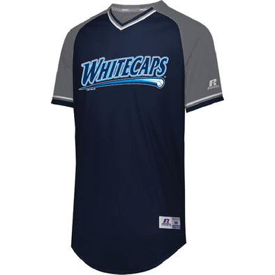 West Michigan Whitecaps Team Classic V-Neck Jersey-CUSTOM ORDER