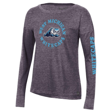 West Michigan Whitecaps Ladies Long-Sleeve UA Tee