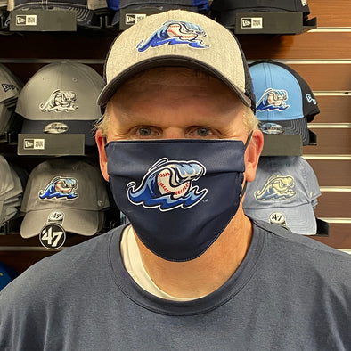 West Michigan Whitecaps Face Mask