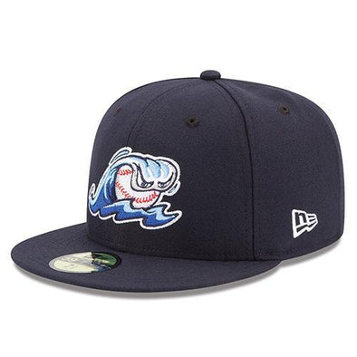 West Michigan Whitecaps Official Home Player Cap - Fitted