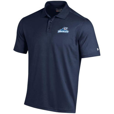 West Michigan Whitecaps Under Armour Navy Performance Polo
