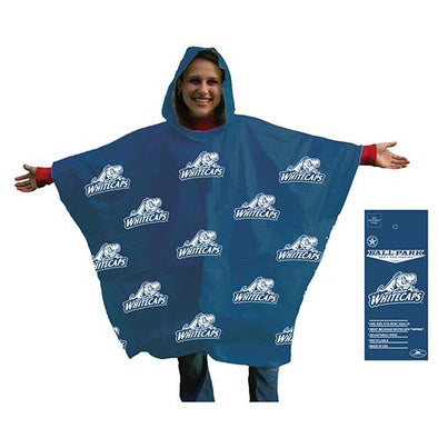 West Michigan Whitecaps Rain Poncho