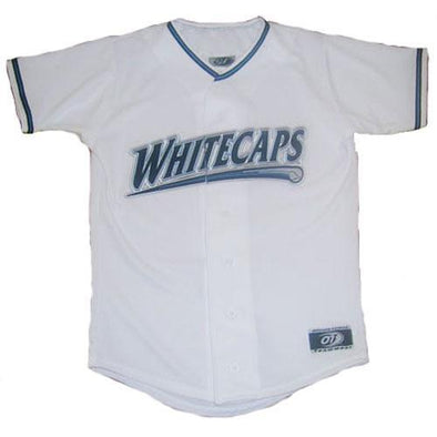 West Michigan Whitecaps Youth Replica Home Jersey