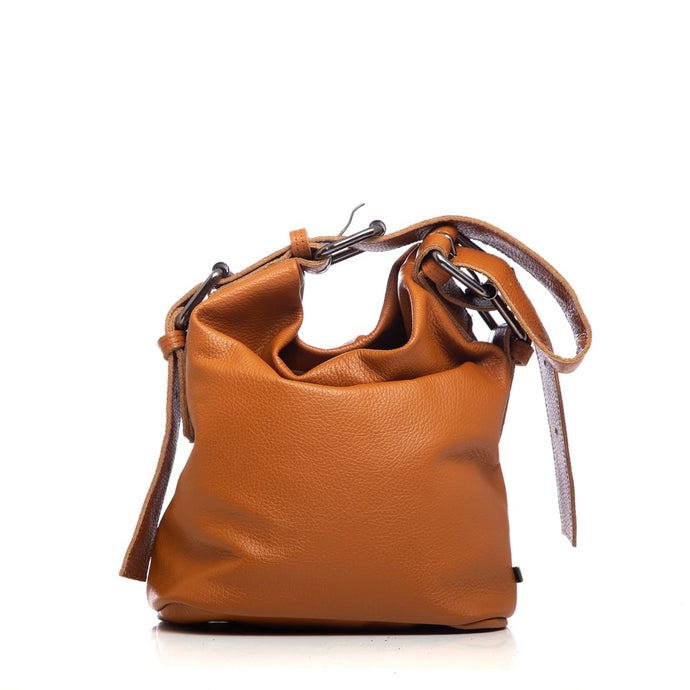 Click to enlarge Day to Evening Pouch Bag S Cognac