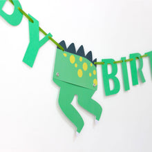 Dinosaur Party Banner