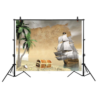 Pirate Ship  Background Photobooth
