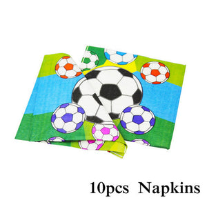 Football Birthday Party Napkins