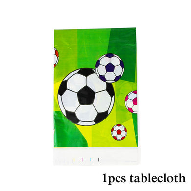 Football Birthday Party Tablecloth