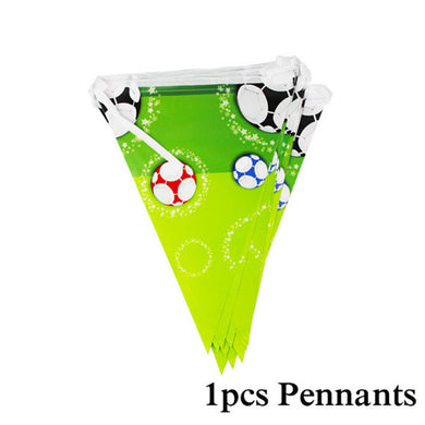 Football Birthday Party Pennants