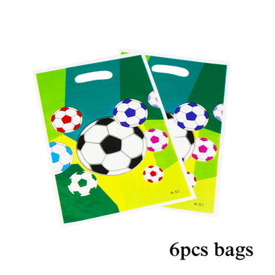 Football Birthday Party Bags