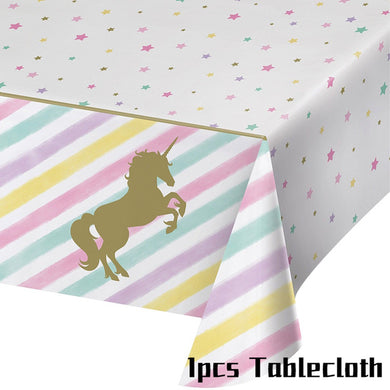 Unicorn Party Tablecloth