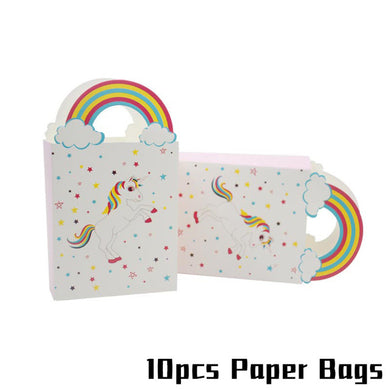 Unicorn Party Paper Bags