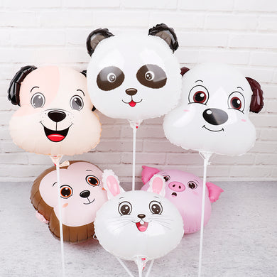 Animal Head Balloons 50pcs 18inch