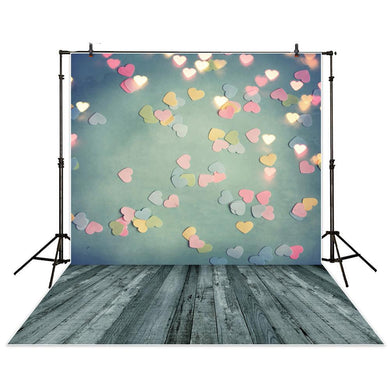 Hearts Backdrop