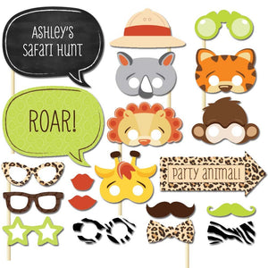 Animal Party Photo Booth Props