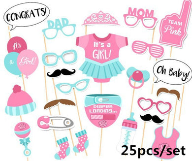Girl Party Photo Booth Props