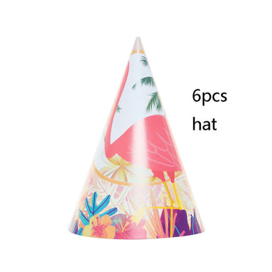 Flamingo Party Paper Hat