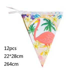 Flamingo Party Paper Banner