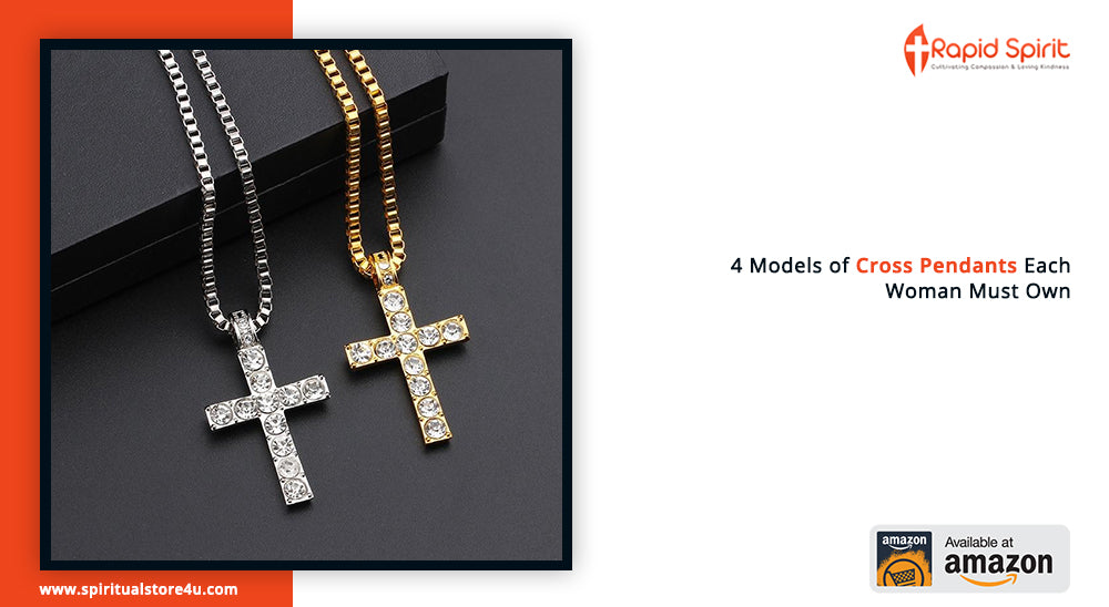 4 Models of Cross Pendants Each Woman Must Own