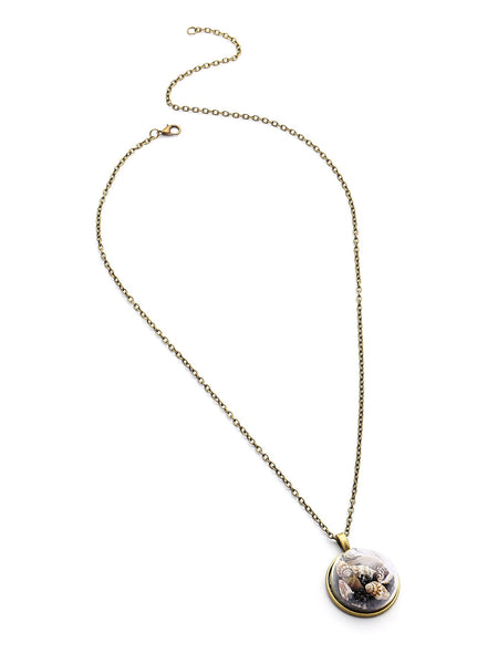 Women's Shell Pendant Long Necklace