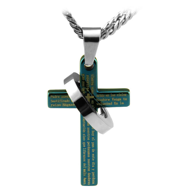 Spanish Lord's Prayer Crosses