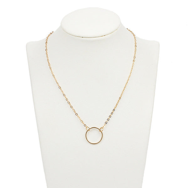 NEW Fashion -  Women's Ring Pendant Necklace Chain Jewelry