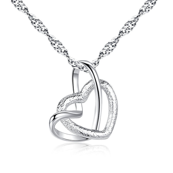 Women's Heart Shaped Fashion Necklace Pendant