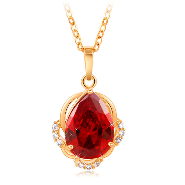 Ladies Zircon Fashion Pendant Necklaces, Mother's Day, Birthday Gift for Women From RAPID SPIRIT - Spiritualstore4u