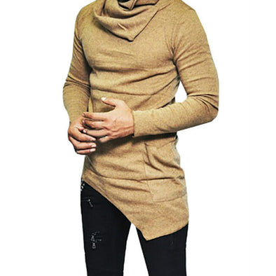 Long Sleeve Knitted Sweater Slim