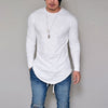 Fashion Casual Slim Elastic Long Sleeve