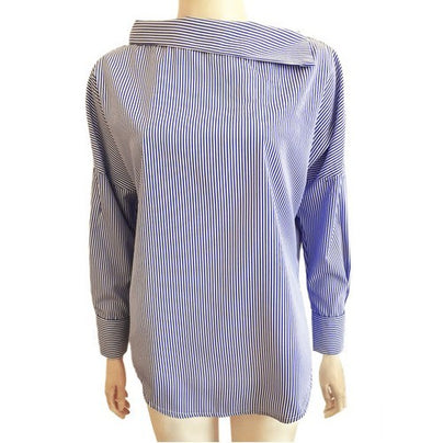 Shirt Strapless Loose Long Sleeve