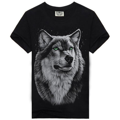 3D Wolf T-Shirt For Men