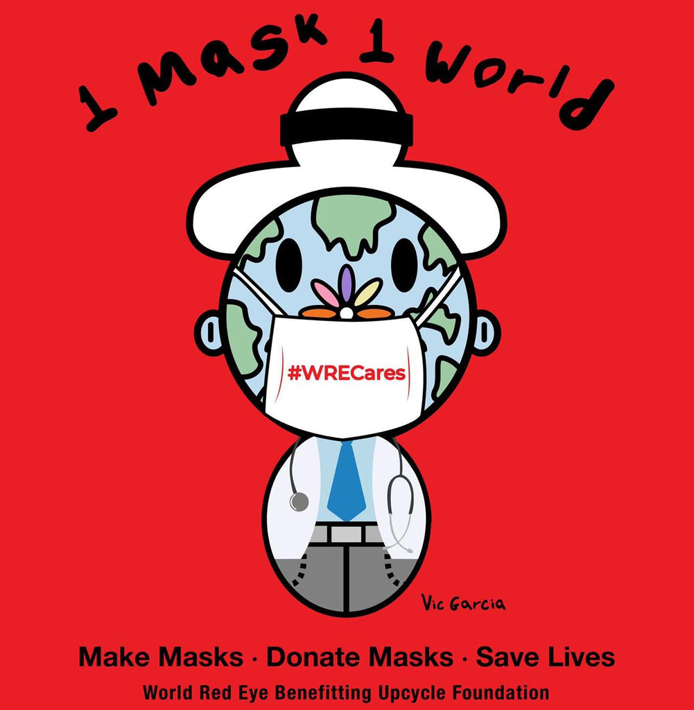 #WRECares 1 Mask 1 World
