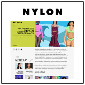 The nine hottest swimwear collection from Miami swim week | NYLON