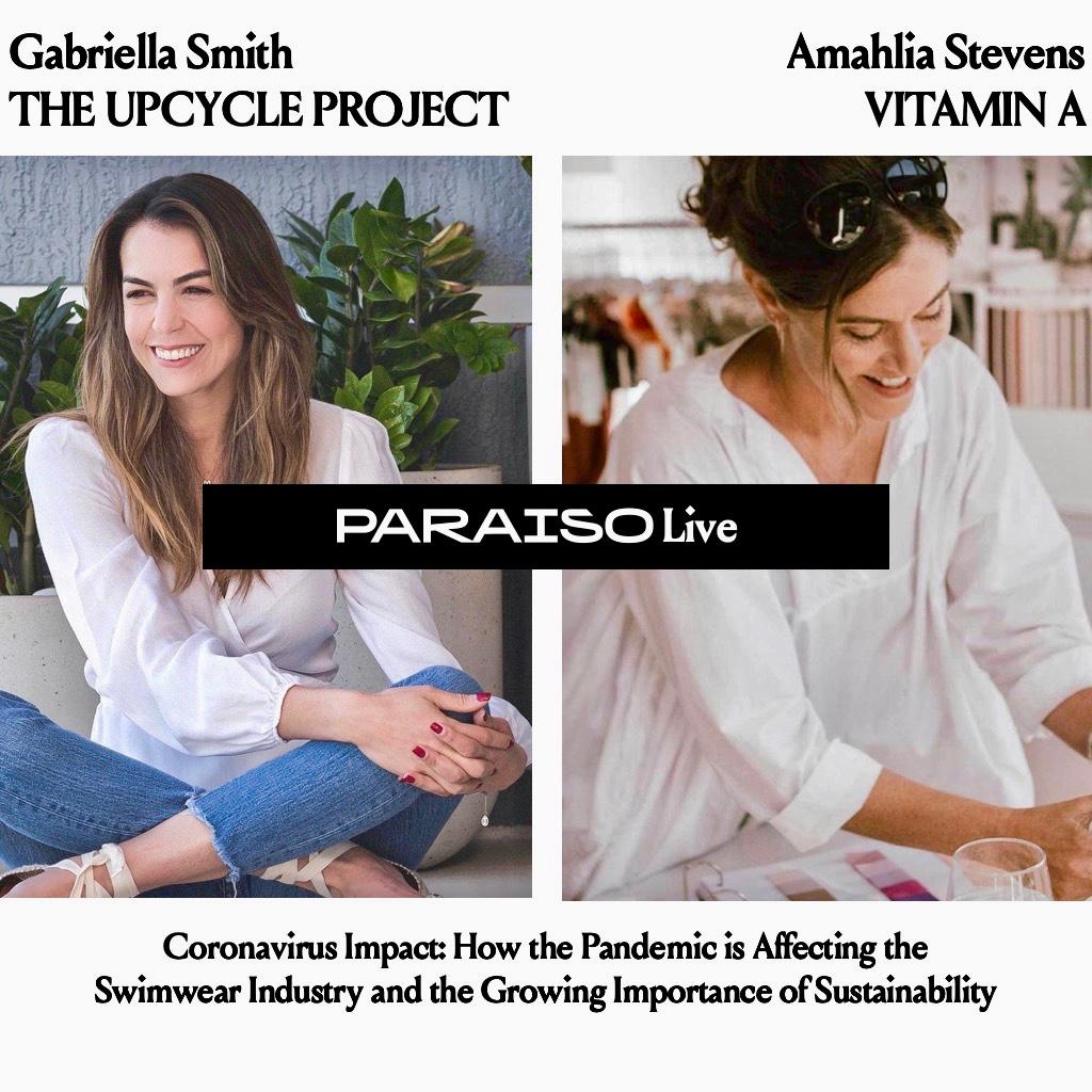 Face-to-Face: Paraiso Live with Amahlia Stevens, founder of Vitamin A Swim
